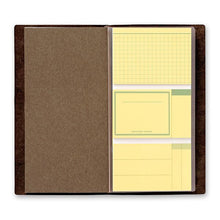 Load image into Gallery viewer, Traveler's Notebook Refill 022 Sticky Notes - Regular Size