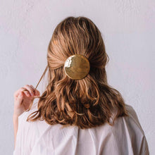 Load image into Gallery viewer, Pilota Hair Clip Gold