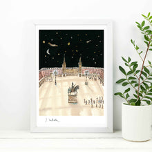 Load image into Gallery viewer, Plaza Mayor Noche A4 Digital Print