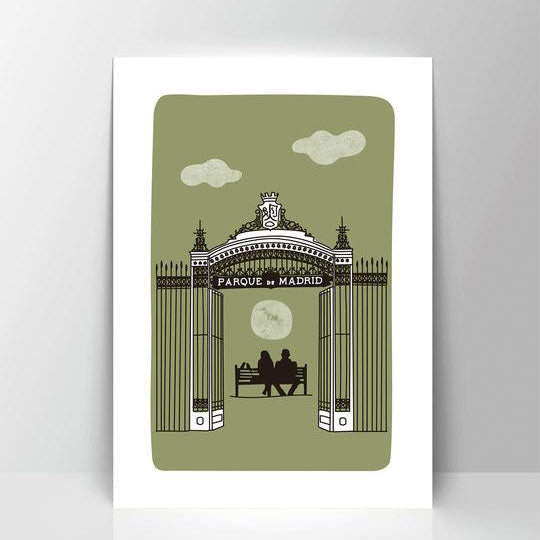 Retiro A4 Screen Print