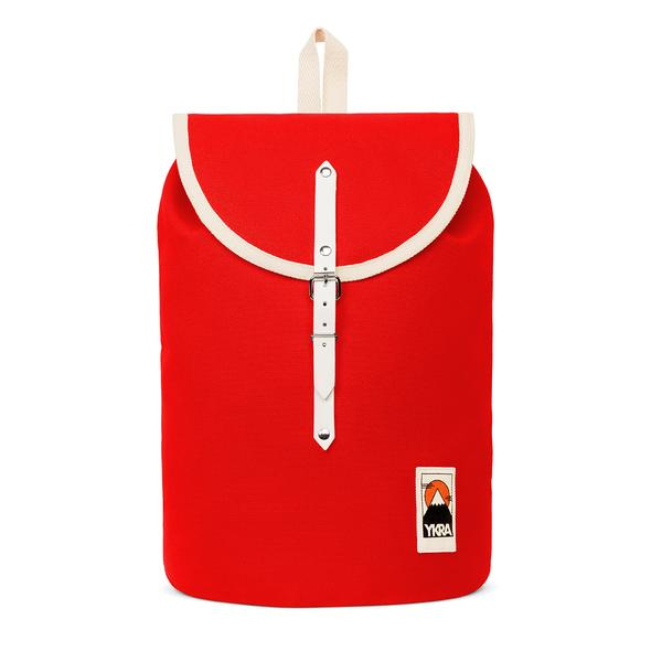 Sailor Pack Cotton Strap Backpack Red