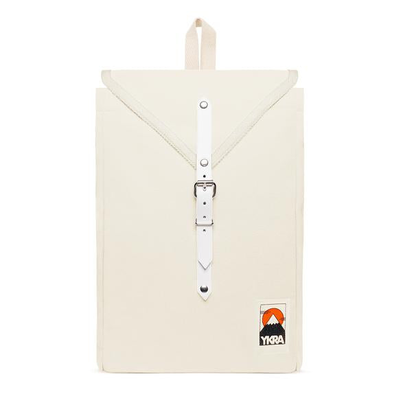 Scout Cotton Strap Backpack White