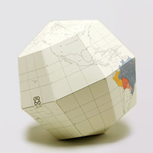 Sectional Globe - Blank Large