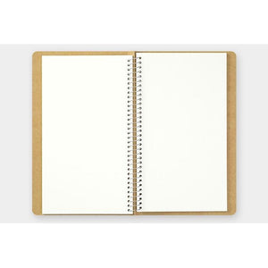 Spiral Ring Notebook A5 Slim Watercolor Paper