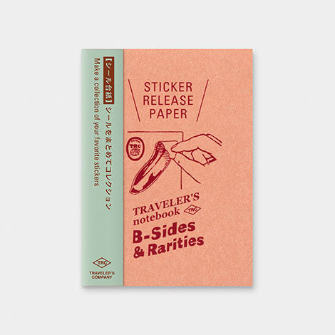 TRAVELER'S notebook B-Sides & Rarities Refill Sticker Release Paper Passport Size