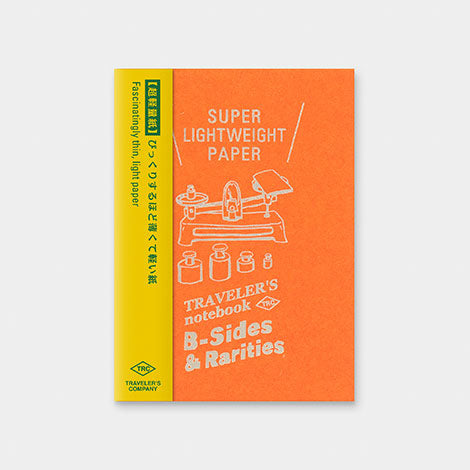TRAVELER'S notebook B-Sides & Rarities Refill Super Lightweight Paper Passport Size