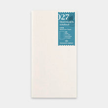 Load image into Gallery viewer, Traveler's Notebook Refill 027 Watercolor Paper - Regular Size