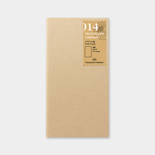 Load image into Gallery viewer, Traveler's Notebook Refill 014 Kraft Paper Notebook - Regular Size