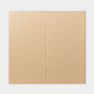 Traveler's Notebook Recambio 014 Papel Kraft - Tamaño Regular