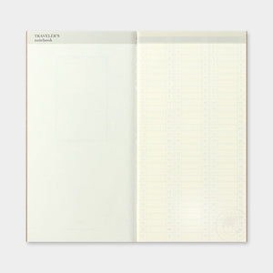 Traveler's Notebook Refill 018 Free Diary Weekly - Regular Size