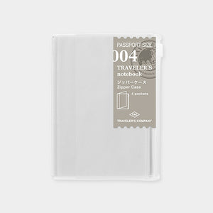 Traveler's Notebook Refill 004 Zipper pocket - Passport Size