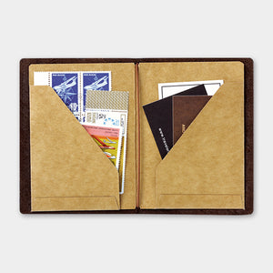 Traveler's Notebook Refill 010 Kraft File - Passport Size