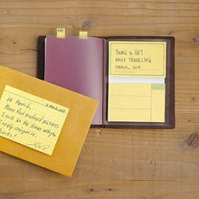 Load image into Gallery viewer, Traveler's Notebook Refill 012 Sticky Notes - Passport Size
