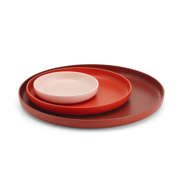 Trays Red (Set of 3)