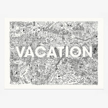Load image into Gallery viewer, Vacation Giclée Print 70x50