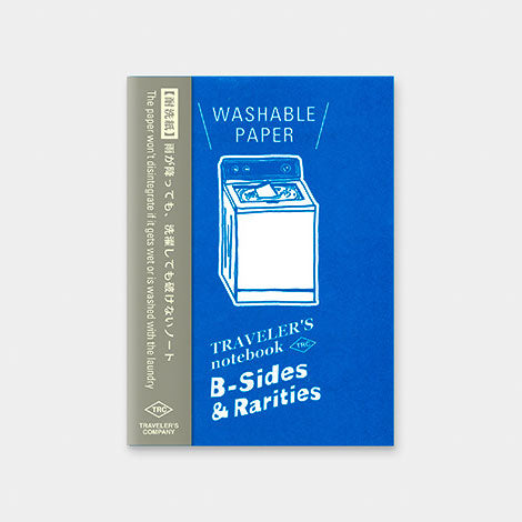 TRAVELER'S notebook B-Sides & Rarities Refill Washable Paper Passport Size