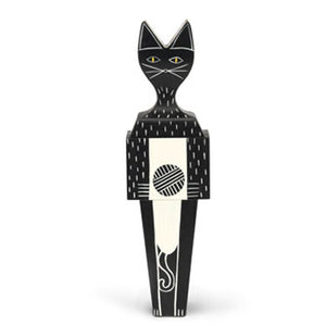 Wooden Doll Cat Large