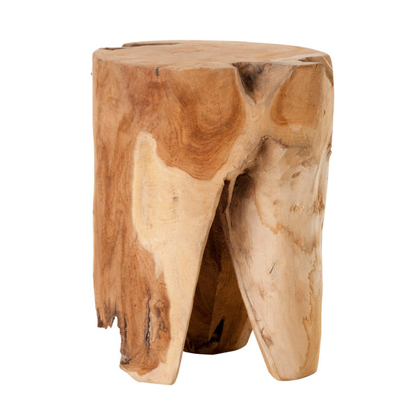Wooden Stool with 3 Legs