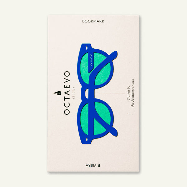Bookmark Riviera Blue