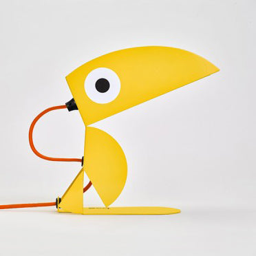 Toucan Lamp Yellow