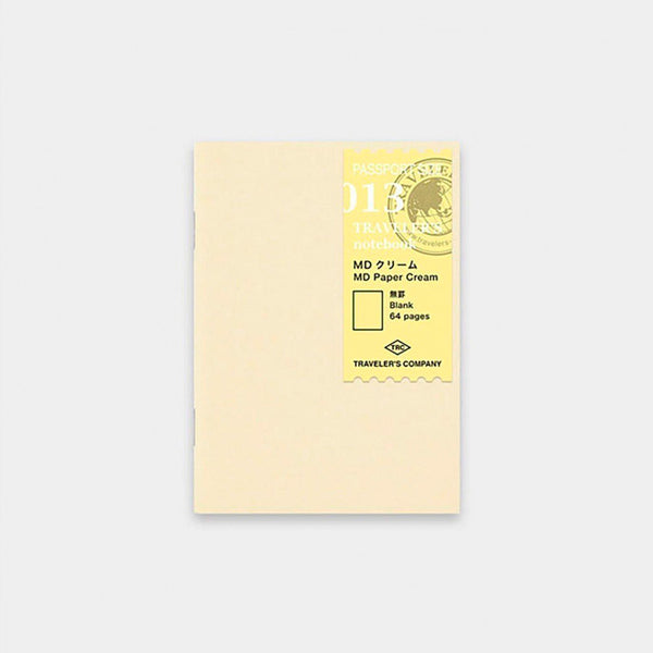 Traveler's Notebook Refill 013 Paper Cream - Passport Size