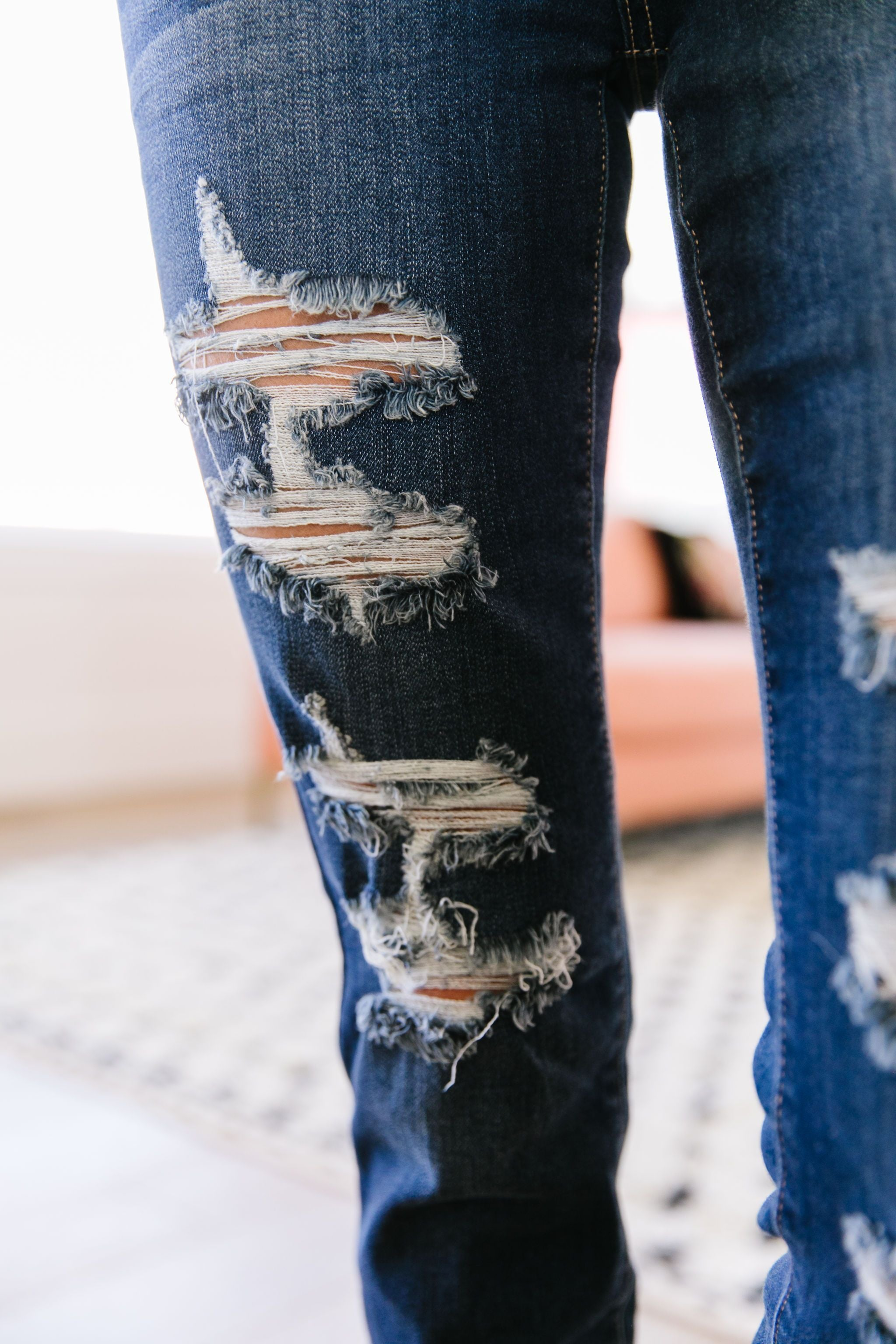 Double Down Destroyed Jeans