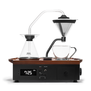 Coffee Alarm Clock | Barisieur Black | Tea & Coffee Brewing Alarm Clock