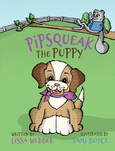 Load image into Gallery viewer, Pipsqueak the Puppy (Hardcover) SIGNED
