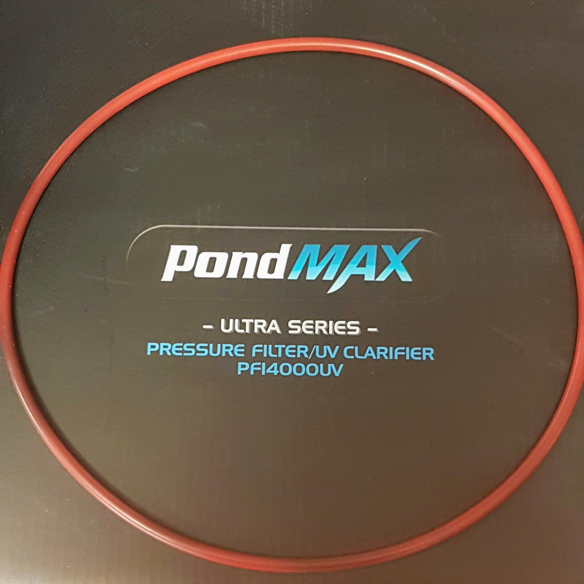 Main O'Ring to Lid for Pondmax Filters