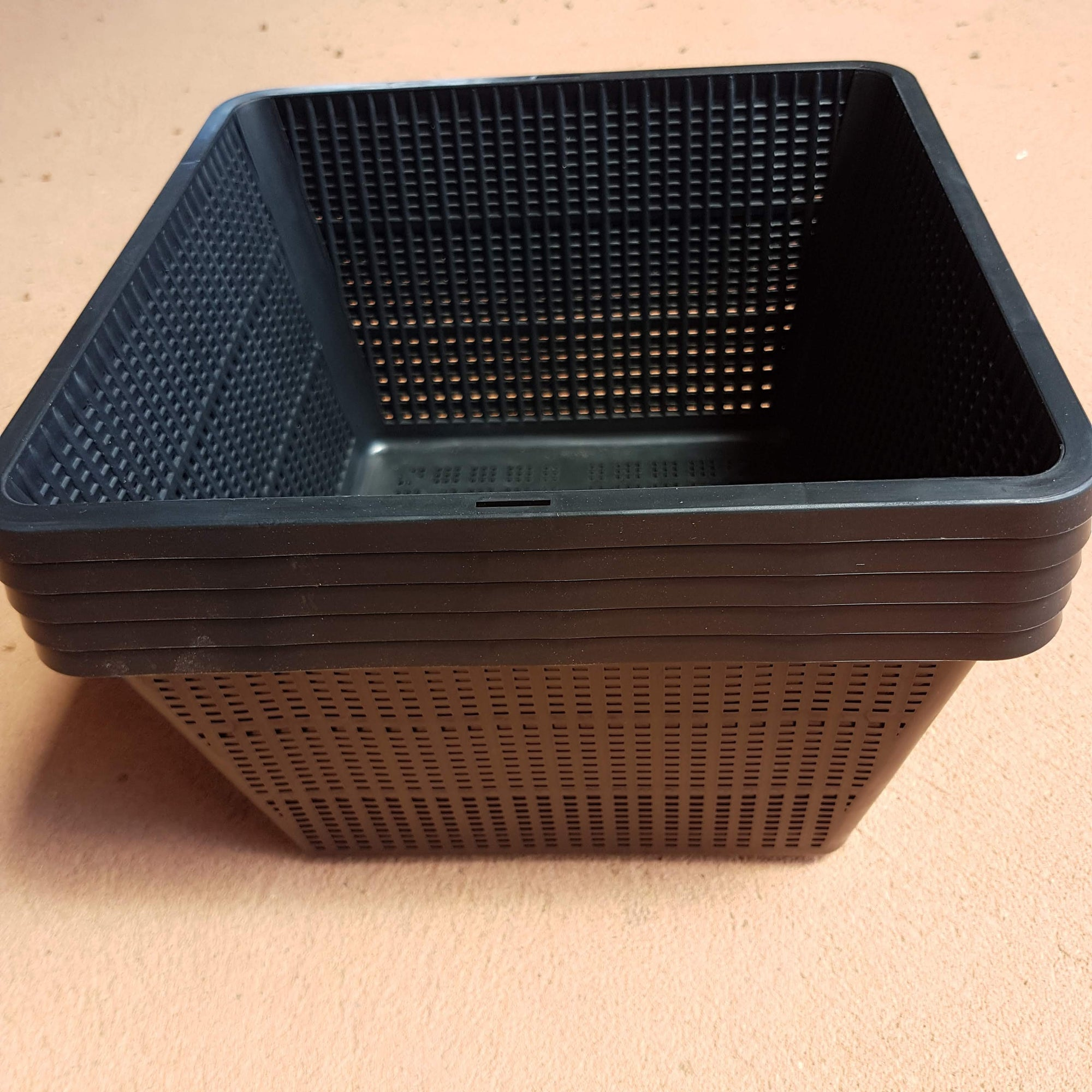 23cm Square Planting Basket Packs inc Shipping