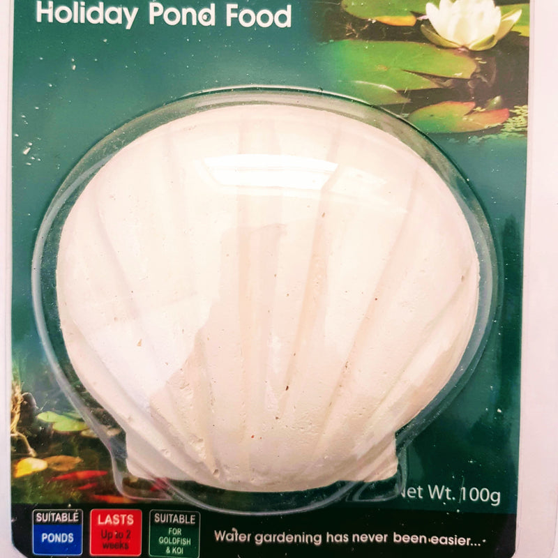 Pond Fish Food Holiday Block