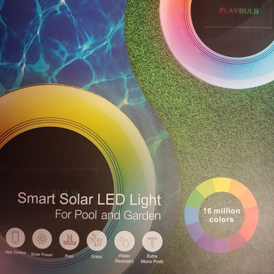 Playbulb Floating Smart Solar LED Light