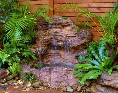 Universal Rock Large Corner Waterfall Pond LCW-001