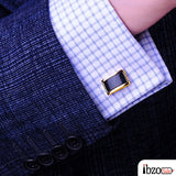 Luxury Shirt High Quality Gold Cufflinks - Ibzo Sale