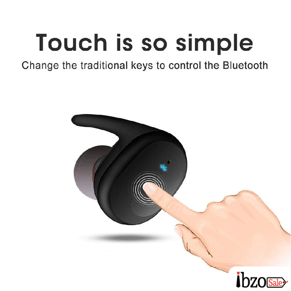 Mini Wireless Headset Touch Control Earbuds