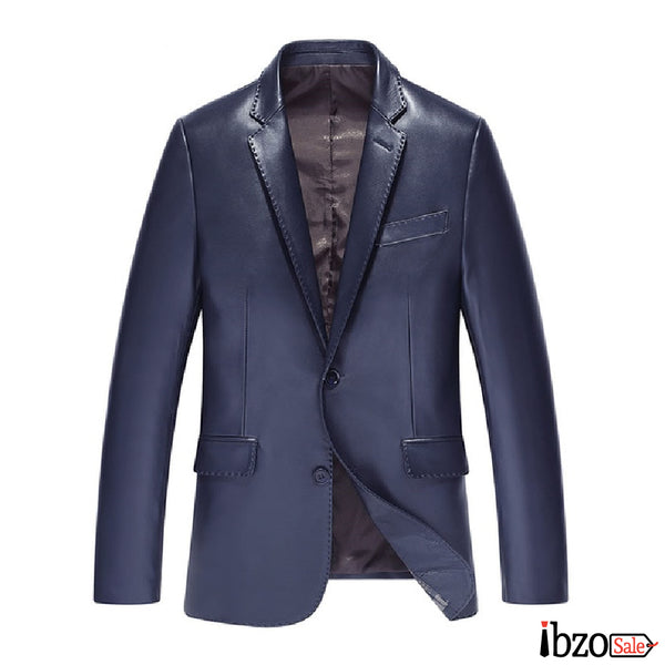 Genuine Leather Jackets Sheepskin Blazer - Ibzo Sale