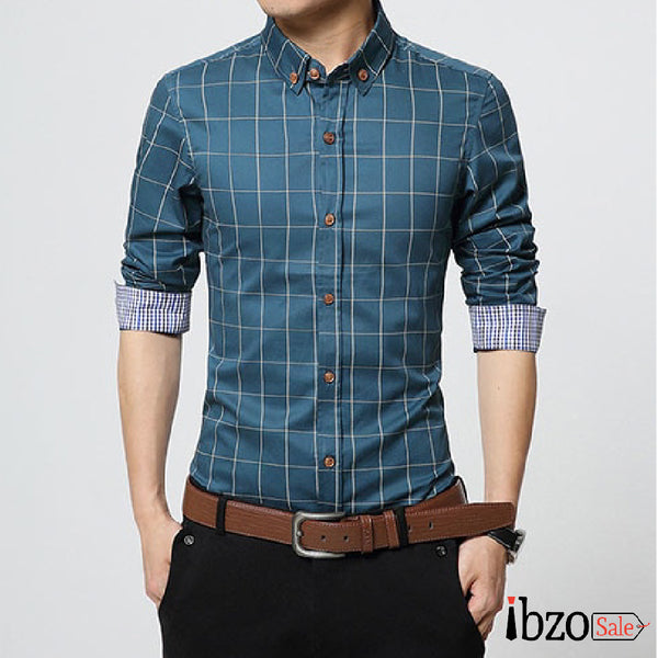 Men Casual Fit Shirts - Ibzo Sale