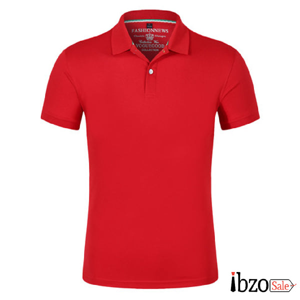 Men Jersey Polo T-Shirt - Ibzo Sale