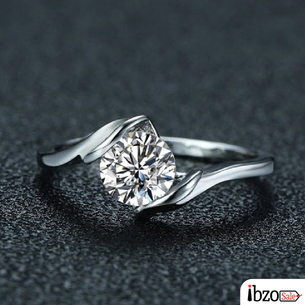 New Fashion Silver Plated Wedding Rings