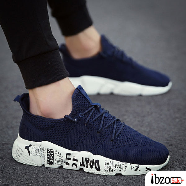 Woven Men Casual Outdoor Shoes - Ibzo Sale