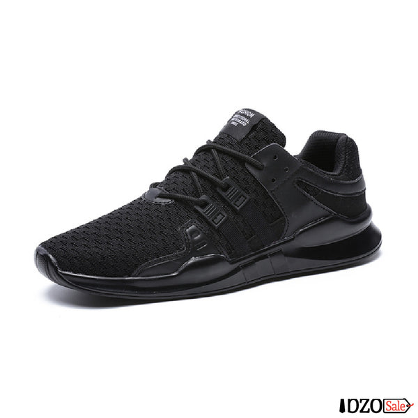 Lightweight Sneakers Lace-up Style Shoes - Ibzo Sale
