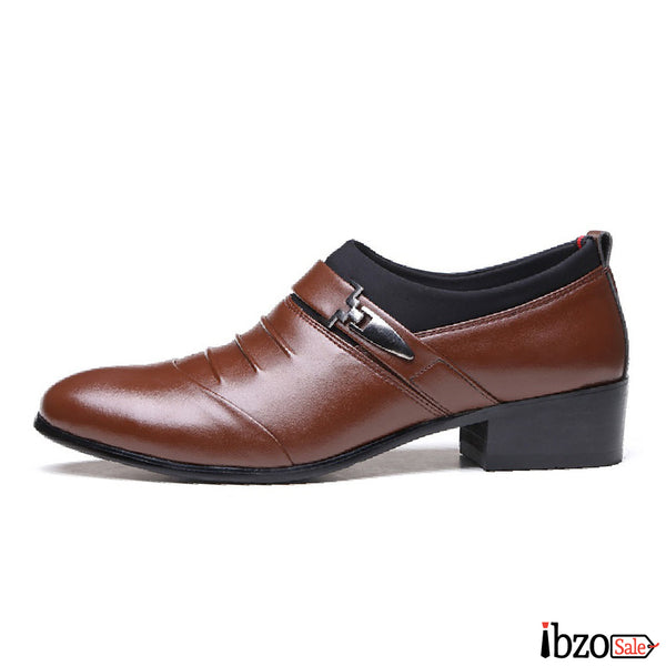 Pointed Toe Dress Shoes - Ibzo Sale