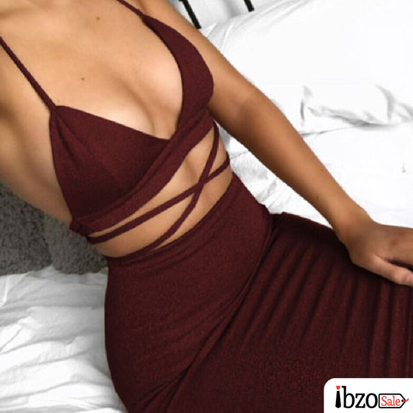 Sexy Crop Top & Pencil Skirt Suits & Sets