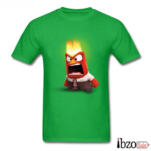 Anger Inside Cartoon T-Shirts - Ibzo Sale