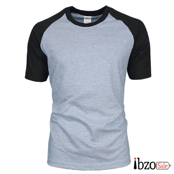 Simple Solid Color T-Shirt - Ibzo Sale