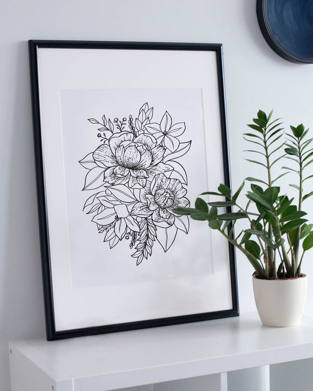Bloom ✶ Floral Illustration Art Print - Passion Parade Co.
