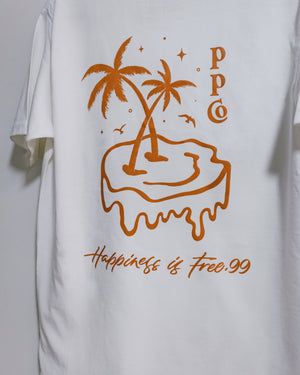 Happiness Is Free.99 ✶ T-Shirt (Autumn Gold)