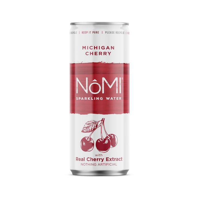 Michigan Cherry Sparkling Water - 24 Pack