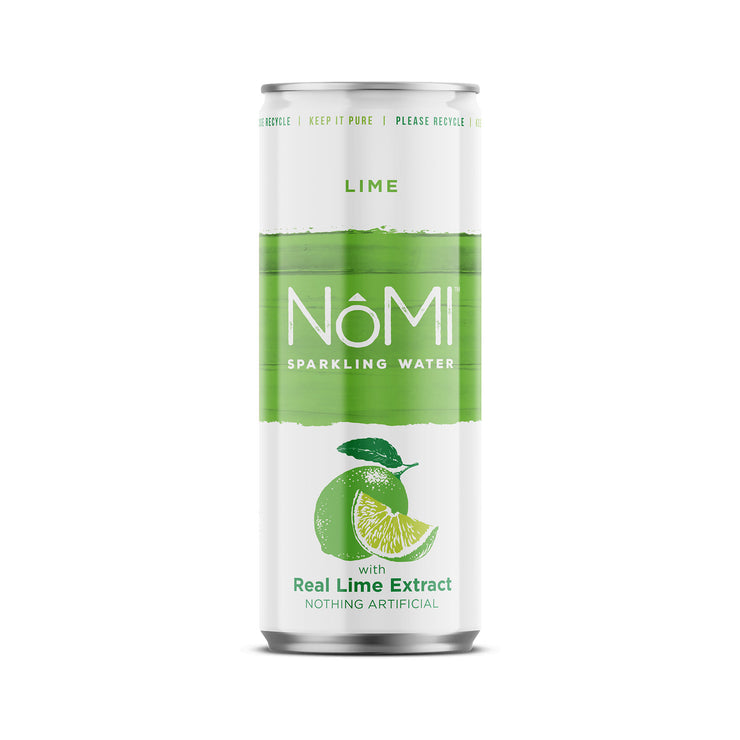 Lime Sparkling Water - 24 Pack