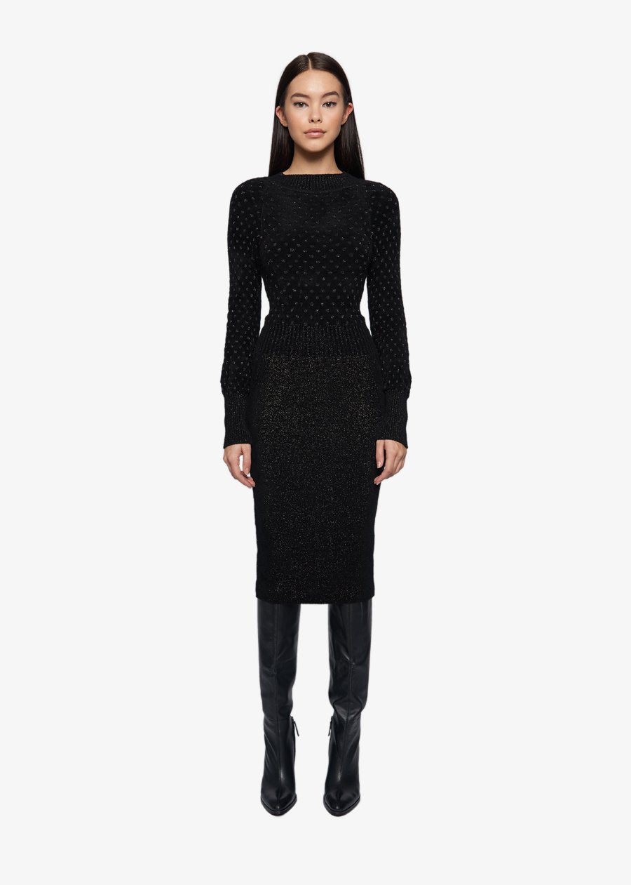 SOPHIA LONG KNITTED DRESS